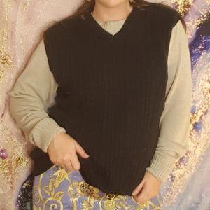 IZOD Golf Soft Chunky Knit Sweater Vest